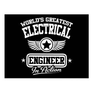 El ingeniero eléctrico más grande del mundo en la postal