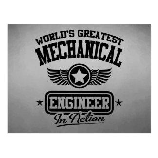 El ingeniero industrial más grande del mundo en la postal