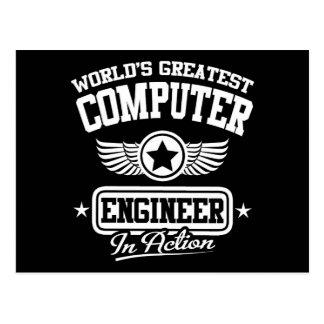 El ingeniero informático más grande del mundo en postal