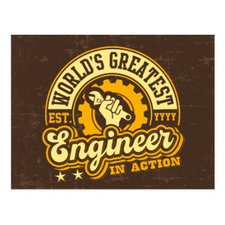El ingeniero más grande del mundo (EST. Postal