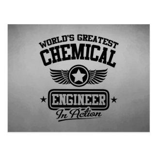 El ingeniero químico más grande del mundo en la postal