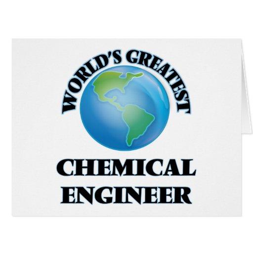El ingeniero químico más grande del mundo felicitación