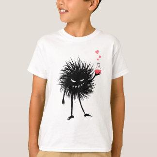 El insecto malvado hizo a niños de la poción de camiseta