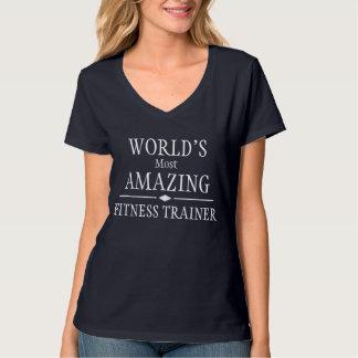 El instructor más asombroso de la aptitud del camisetas