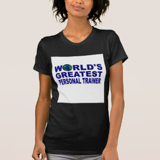 El instructor personal más grande del mundo camisetas