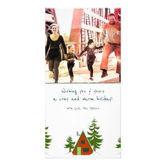 El invierno: Ejemplo Photocard de la cabina del Tarjeta