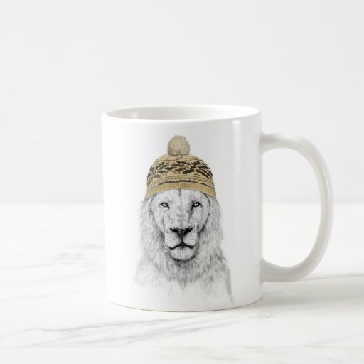 El invierno está aquí taza de café