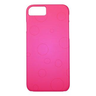 El iPhone brillante 7 del arte pop de las rosas Funda iPhone 7