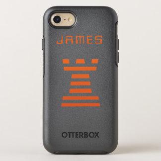 El iPhone de ChessME añade nombre Funda OtterBox Symmetry Para iPhone 7