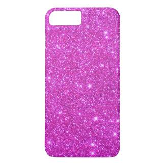 El iPhone reluciente 7 de la chispa rosada Funda iPhone 7 Plus