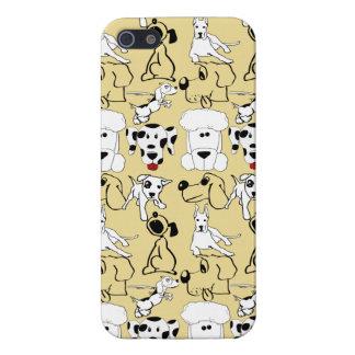 El ir a los regalos del perro del veterinario de iPhone 5 protector