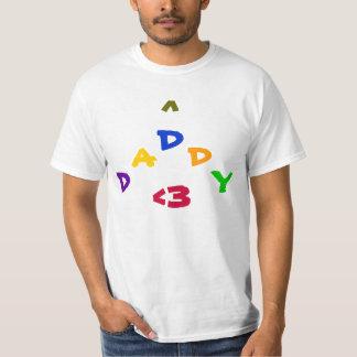 El ir a ser un papá camisetas