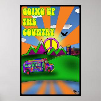 El ir para arriba el poster del país
