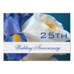 El iris/subió la 25ta invitación del aniversario