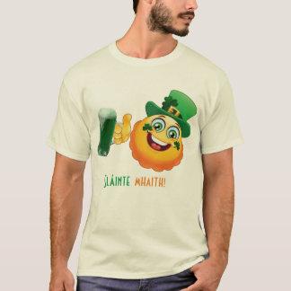 el irlandés anima día de los patricks del st del camiseta