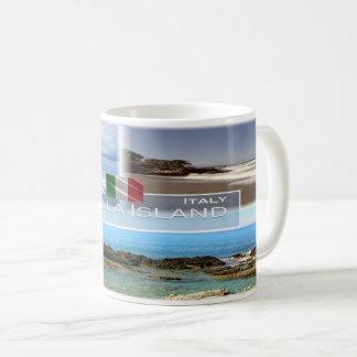ÉL Italia - Calabria - Diamante y isla de Cirella Taza De Café
