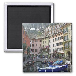 ÉL - Italia - Limone del Garda - puerto Imán Cuadrado