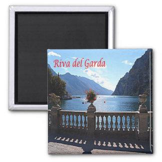 ÉL - Italia - Riva del Garda Imán Cuadrado