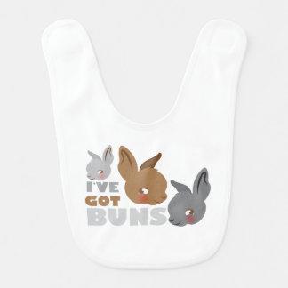 el ive consiguió los bollos (los conejos de babero de bebé