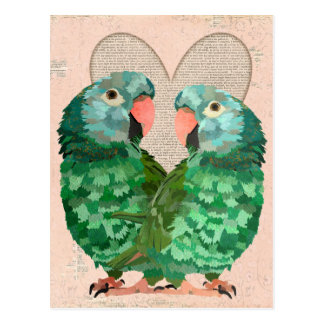 El jade repite mecánicamente la postal del corazón