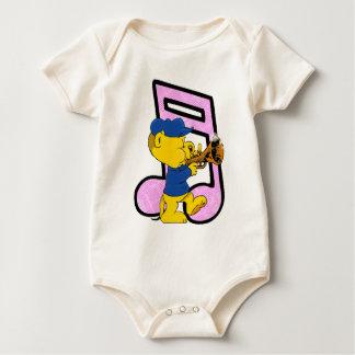 ¡El jaléo musical de Ferald! Body Para Bebé