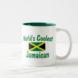El jamaicano más fresco taza de dos tonos