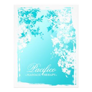 el jardín azul 311-Tranquil se descolora Folleto 21,6 X 28 Cm