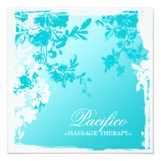 el jardín azul 311-Tranquil se descolora Invitación 13,3 Cm X 13,3cm