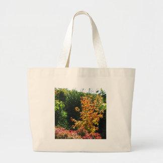 El jardín de flores parquea el regalo del bolsas de mano