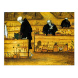 El jardín de la muerte de Hugo Simberg 1896 Tarjeta Postal