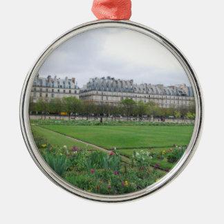 El jardín de Tuileries, París Francia Ornatos
