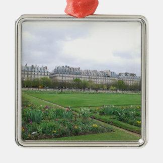 El jardín de Tuileries, París Francia Adornos