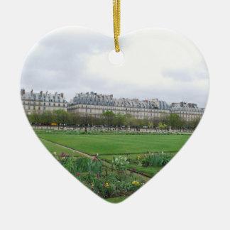 El jardín de Tuileries París Francia Adorno