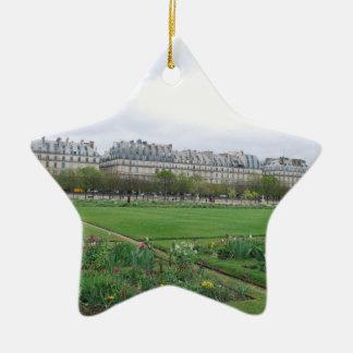 El jardín de Tuileries, París Francia Ornamentos De Reyes Magos