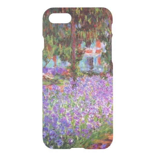 El jardín del artista en Giverny de Monet Funda Para iPhone 7