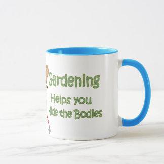 El jardín inclina #2 - cuerpos de la piel taza