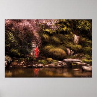 El jardín japonés posters