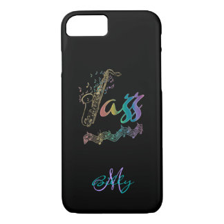 El jazz personalizó la caja del iPhone 7 de la Funda iPhone 7