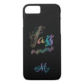 El jazz personalizó la caja del iPhone 7 de la Funda Para iPhone 8/7