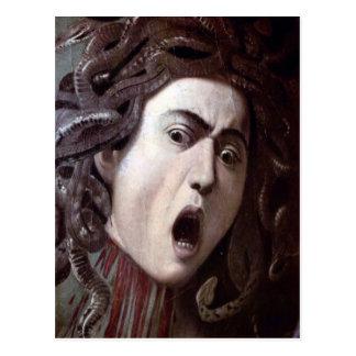 El jefe de la medusa de Miguel Ángel Caravaggio Postal