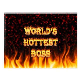 el jefe más caliente de los mundos postal