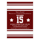 El jersey del fútbol raya a la fiesta de cumpleaño