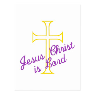 El Jesucristo es señor Postal