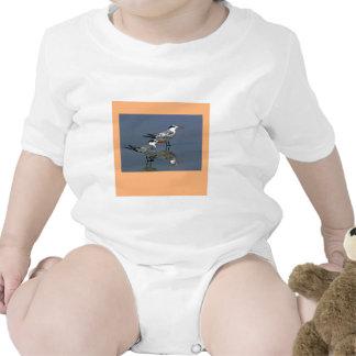 El jGibney Birds2CocoaBeach1 de la serie del artis Trajes De Bebé