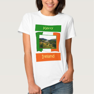 El jGibney Irlanda FlagKerry de la serie del Camisetas