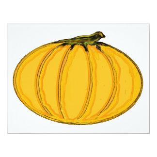 El jGibney pumpkin7tc100 de la serie del artista Invitación 10,8 X 13,9 Cm