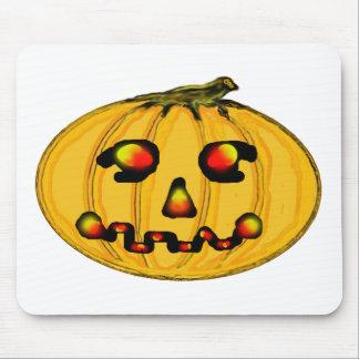 El jGibney Pumpkinfirey de la serie del artista de Alfombrilla De Raton