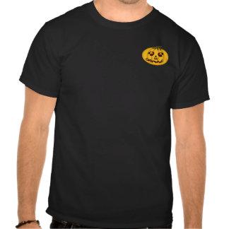 El jGibney Pumpkinfirey de la serie del artista de Camiseta