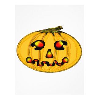El jGibney Pumpkinfirey de la serie del artista de Tarjetón