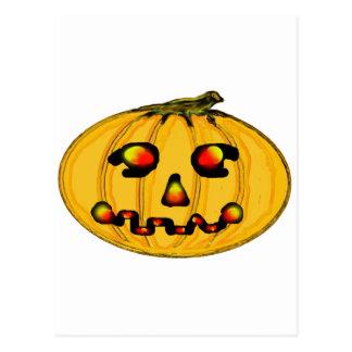 El jGibney Pumpkinfirey de la serie del artista Tarjeta Postal